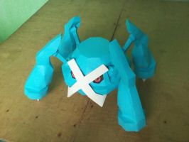 Papercraft Metagross by MarcGo26