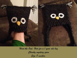 Owl Hat by adagiobreezes