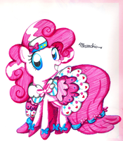 some pinkie c: by CosmicPonye