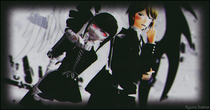 No Goods, No Bads, Only war - Danganronpa by KainaYuSakine