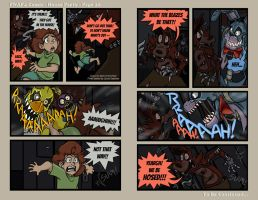 FNAF4 Comic - House Party - Page 20 - 7-29-16 by Mattartist25