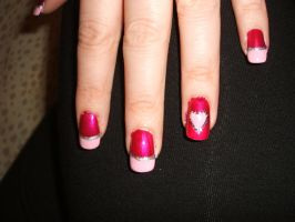 Valentine's Day Nails by lettym