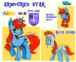 C: Armoured Star Reference by PoneBooth