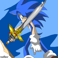 sonic and the black knight by wallacexteam