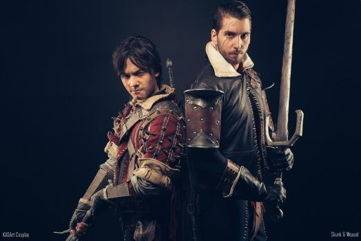 Eskel and Lambert Cosplay /The Witcher 3 Wild Hunt by KADArt-Cosplay