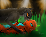 Just the Two Of Us by Shadowfang5000