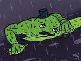 Sewper Mutant Vs. The Rain by JDWRudy25