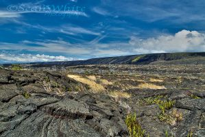 Lava Rock Desert by 1shotaway