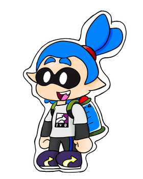 Paper Inkling Boy by 3DylanStar