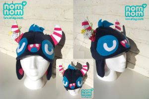 Kawaii Monster Hat Attack 3 by junkyard-king