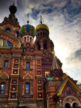 Church of the Savior on Blood by fromform