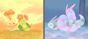 sleepy seasons by pekou