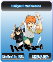 Haikyuu!! 2nd Season - Anime Icon by Rizmannf