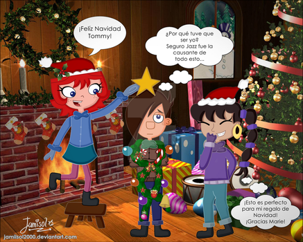TnM: Merry Christmas Tommy by Jamiisol2000