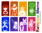 Undertale-Rainbowmeme by Kyathewind