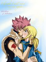 NaLu: K..Kiss coloured by Joshdinobarney