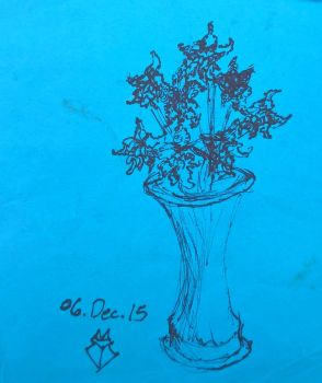 Work Sketch: Orchids 6-Dec-2015 by Chinaricat