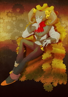 CP: The man on the bronze throne by KimsSpace