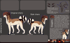 ref sheet for matt. by florawolf