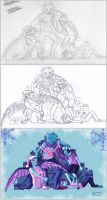 Process - 'All I Want For Christmas Is You' by hannahspangler