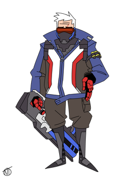 Soldier 76 by Hierogriff