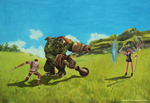 Fight - personal mmorpg proyect by Nenini