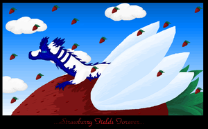 ...Stawberry Fields Forever... by RavenSerpent
