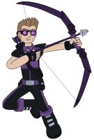 Hawkeye by MCsaurus