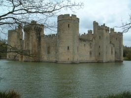 Bodiam Castle by LancerAdvanced