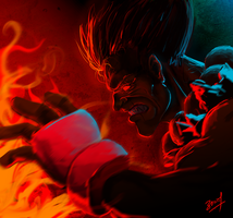 Akuma by devianchild