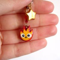 Calcifer Charm by yael360
