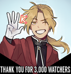 Thank you for 3k+! by Boddbby