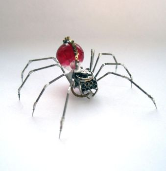 Watch Parts Spider No 66 by AMechanicalMind