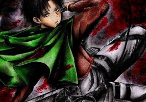 Rivaille - Shingeki no Kyojin by Reyos-Cheney