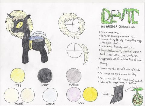 Devil [refrence page] by Mafiles50