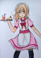 busy waitress by Noa-chii