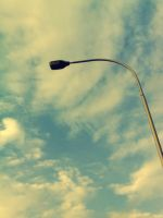 Street Light sky ways.. by Pramin