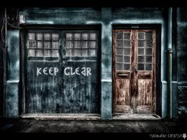 Keep Clear by shadowfoxcreative