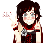 RWBY ~ RED by edline02