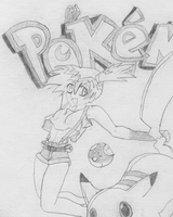 Pokemon Comic Cover by ravenfanboy64