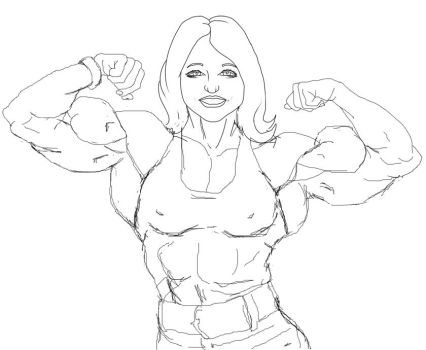 If my wife had muscles by olympic1916