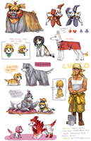 FFIX dog bonus by emlan