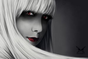 Red Eye by MariamMohammed