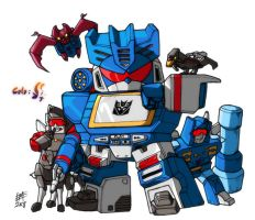 Soundwave G1 SD by ShadowSpit