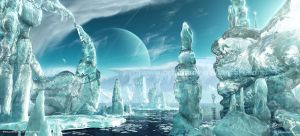 Ice World II by priteeboy