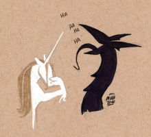 Dragon and Unicorn - Outtake by mcah