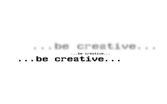 ...be creative... by halvaPL