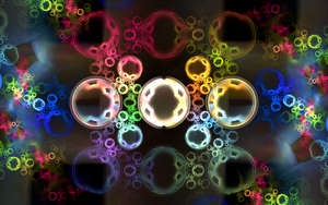 coloured glass circles by Andrea1981G