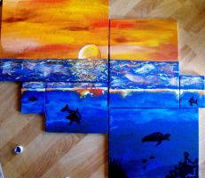 seascape by Lacesal