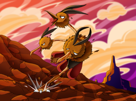 :Beep beep: Dodrio by endless-whispers